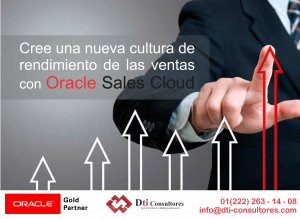 Conoce Oracle Sales Cloud
